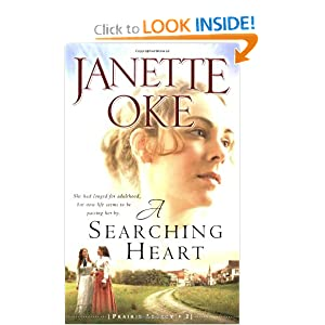 """A Searching Heart"" by Janette Oke :Book Review"