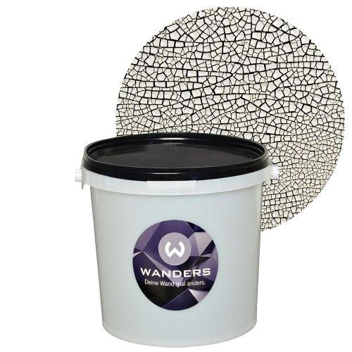 wanders facetten optik wei wand farbe wand effekt paste 3 liter. Black Bedroom Furniture Sets. Home Design Ideas
