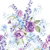 Creative Converting Lilac Blossoms Plastic Banquet Table Cover