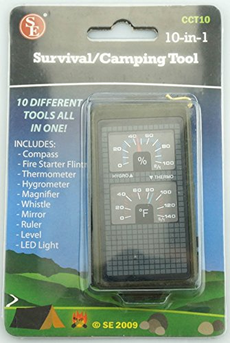 SE CCT10 10-IN-1 Survival Camping Tool