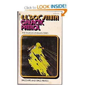 Galactic Patrol (Lensman Series, No. 3 Pyramid SF, No. N3084) by Edward E. Doc Smith and Jack Gaughan