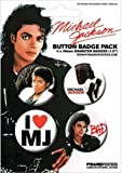 Michael Jackson - Bad - Badge Pack - 4 x 38mm Badges