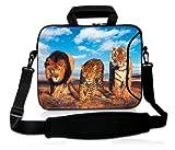 Sac Epaule lion, léopard et