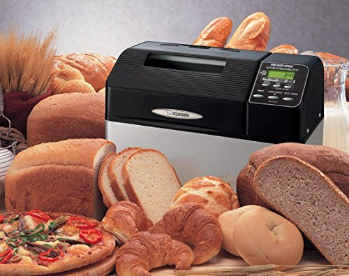 Bread Machine Maker by Zojirushi 2lb Capacity Home Bakery Supreme Variety Sourdough, Whole Wheat (Home Bakery Supreme compare prices)