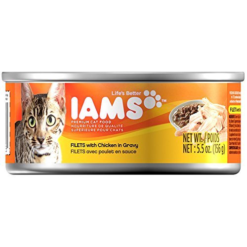 Iams Adult Filets Chicken In Gravy Cat Food