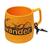 and wander(アンドワンダー) DINEX printed mug yellow