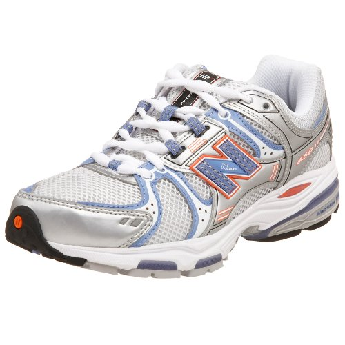 New Balance Women's Wr850St Silver/Purple/Orange Trainer Wr850St 8 UK