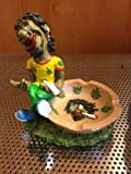 Jamaican Man Ashtray (Lt05)