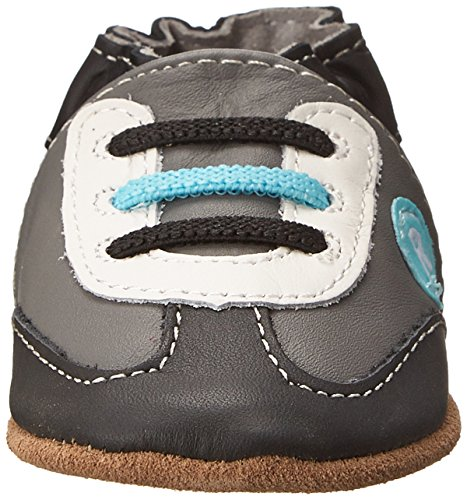 Robeez All Star Rodney Sneaker Infant Grey 12 18