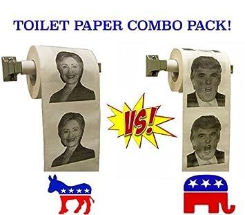 Giấy vệ sinh in hình Trump bán chạy gấp 6 lần giấy in hình bà Hillary Clinton ảnh 0