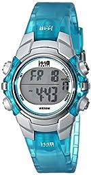 Timex Women\'s T5K460 1440 Sports Blue Resin Digital Watch