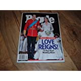 Prince William & Catherine Middleton's 2011 Royal Wedding-People Magazine, Special Collector's Issue. Love Reigns! 72-Page Royal Wedding Album