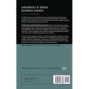 Fundamentals of Durable Reinforced Concrete (Modern Concrete Technology)