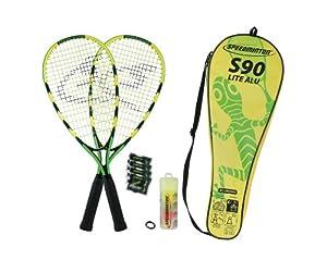 Speedminton S90 Set de badminton Vert/Jaune