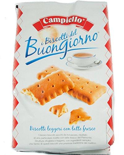 Campiello Biscotti Del Buongiorno, Light Milk Biscuits, 17.6 Oz