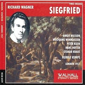 Siegfried : Act I - Und diese St�cke sollst du mir schmieden