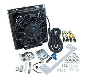 EMPI 00-9248-0 96 Plate Oil Cooler Kit, w/Electric Fan, VW, BAJA, SAND RAIL