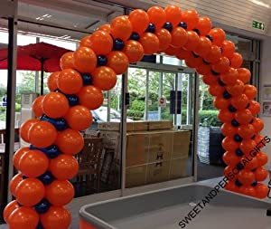 Large floor standing diy balloon arch kit no helium needed for Balloon arch no helium