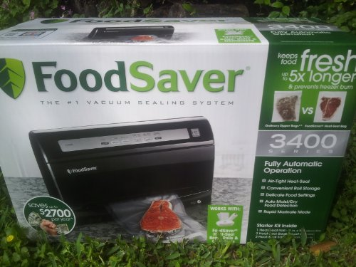 Foodsaver V3425-P, PLUS STARTER KIT. Vacuum Packaging System (3400 Foodsaver compare prices)