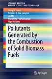 Pollutants Generated by the Combustion of Solid Biomass Fuels (SpringerBriefs in Applied Sciences and Technology)