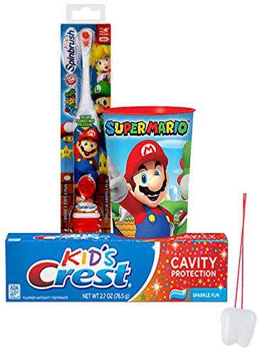 super-mario-brothers-gamer-3pc-bright-smile-oral-hygiene-set-turbo-powered-toothbrush-crest-kids-spa