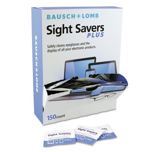 Bausch & Lomb - Pre-Moistened Electronic Cleaning Tissues, 150 Tissues/Pack 628042 (Dmi Pk