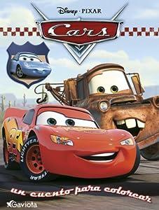 Cars. Un cuento para colorear: Amazon.es: Walt Disney