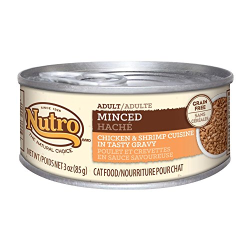 Nutro Adult Cat Food Minced Chicken And Shrimp Recipe