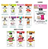 Project 7 Assorted Gourmet Gum/Build A Flavor/Birthday Cake Gummy Set (12 packs)