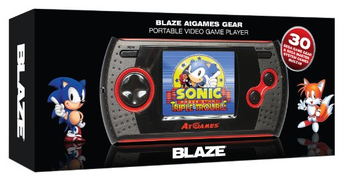 Blaze Gear Sega Master System LCD Handheld Small Box Version - Features 30 Master System and Game Gear Games