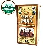 Pride Of India - Organic Energize Ayurveda Tea, 25 Tea Bags - DIWALI SPECIAL - FREE SHIPPING