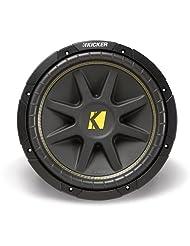 Kicker 10C124 Comp 12-Inch Subwoofer 4 SVC (Black)