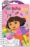 Mini Cahier Dessin Croquis Coloriage Dora L'Exploratrice Autocollant Pochette Surprise...