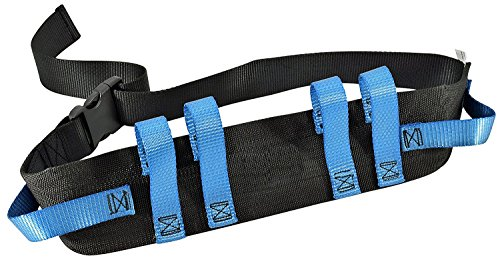 Gait Belt Transfer Belts with Quick Release Buckle. Strong Transfer Handles for Secure Patient Lifting (Gait Belt Handles compare prices)