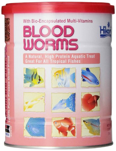 Hikari Bio-Pure Freeze Dried Blood Worms for Pets, 1.76-Ounce (Freeze Dried Goldfish compare prices)