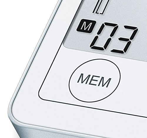 Sanitas SBM 50 Blutdruckmessgerät Oberarm, Weiß-Silber - 7