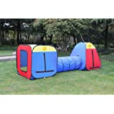 Kids Play Tent, Play Ground, Room, Child Tunnel New Play Hut. Inside - Outside. One Year Warranty.