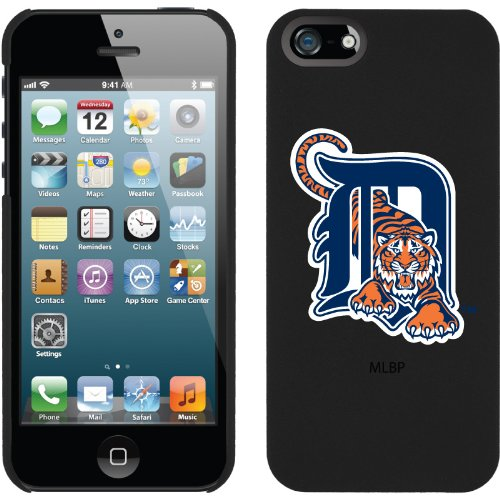 Great Price Detroit Tigers - D with Tiger design on a Black iPhone 5s / 5 Thinshield Snap-On Case by Coveroo