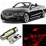 Brilliant Red LED Audi A5 S5 8F7 Interior Package Deal 2009   2012  4 Pieces