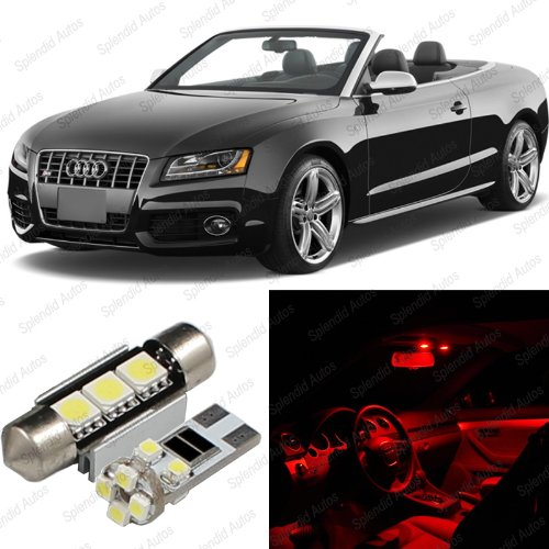 Splendid Autos Brilliant Red Led Audi A5/S5 8F7 Interior Package Deal 2009 - 2012 (4 Pieces)