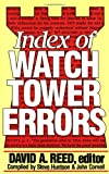 img - for Index of Watchtower Errors 1879 to 1989 book / textbook / text book