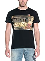 Richmond Camiseta Manga Corta (Negro)