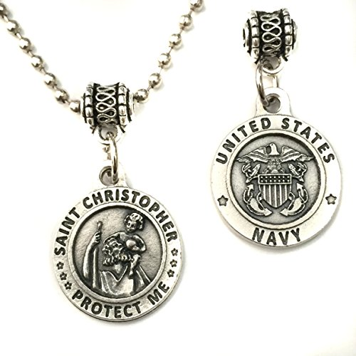 Saint st christopher united states us navy protection protect us saint st christopher united states us navy protection mozeypictures Images