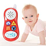 TTWG Baby Educational Musical Cell Phone Toy with Sound Effects(3xAG3)