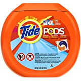 Tide Pods Ocean Mist-Scent, Laundry Detergent, 66-Count- Packaging May Vary