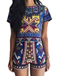 Choies Women's Polyester Multicolor G...