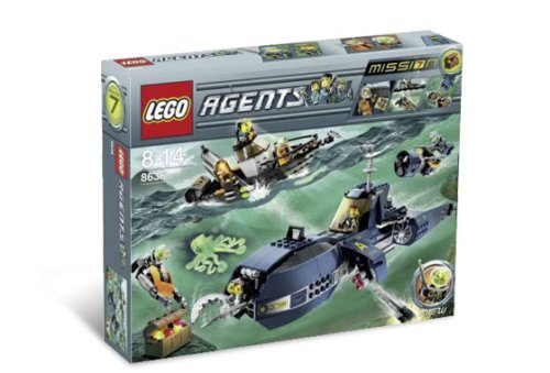 LEGO 8636 AGENTS MISSON 7