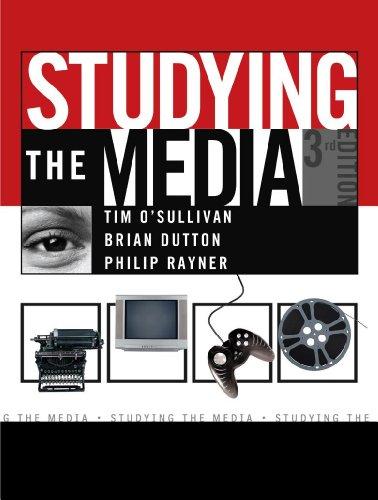 Studying the Media (Hodder Arnold Publication)