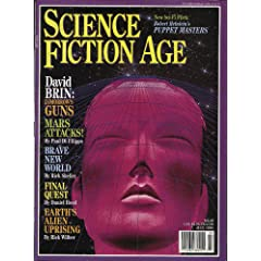 Science Fiction Age July 1994 (Volume Two, Number 5) by Paul Di Filippo, Rick Shelley and Daniel Hood David Brin