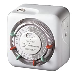 Intermatic TN311C 120 Volt Heavy Duty Grounded Timer